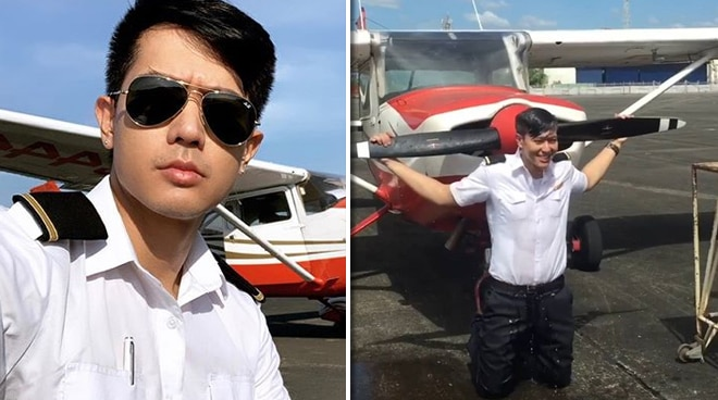 Ronnie Liang is now a pilot
