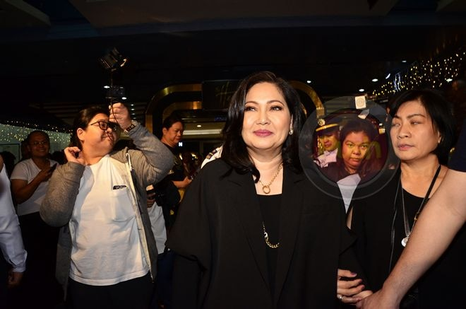 The main cast of 'The Heiress' including 'Diamond Star' Maricel Soriano graced the event.