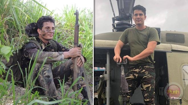 Ejay Falcon, matagal nang gustong mag military training at 'di lang nakikiuso