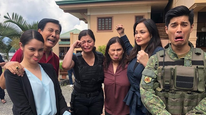 LOOK: Behind-the-scenes photos from last taping day of 'The General's Daughter'