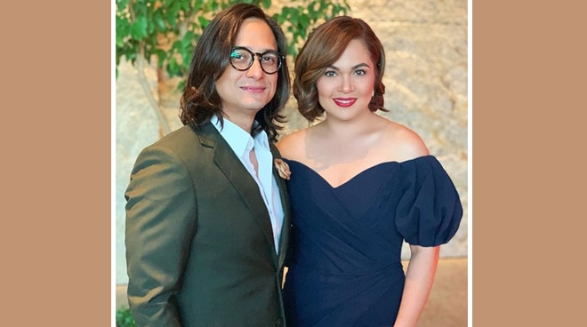 Judy Ann Santos attends the Busan Film Festival with Ryan Agoncillo