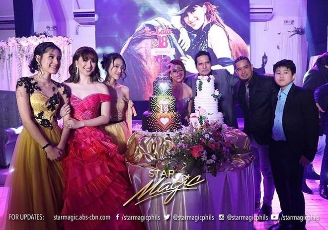 "Singer Isabela ""Lala"" Vinzon celebrated her 18th birthday last Thursday, October 3, at the Blue Gard"
