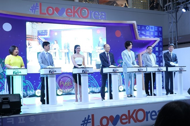 Lee Dong Wook for Love Korea Culture and Travel Fiesta