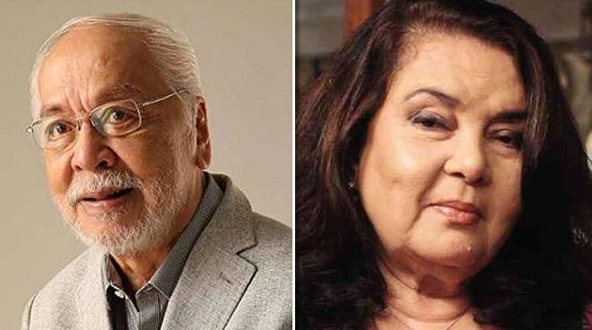 Celebrities mourn death of icons Tony Mabesa, Amalia Fuentes