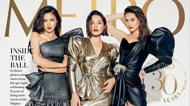LOOK: Judy Ann Santos, Bea Alonzo, Kim Chiu join forces in magazine cover