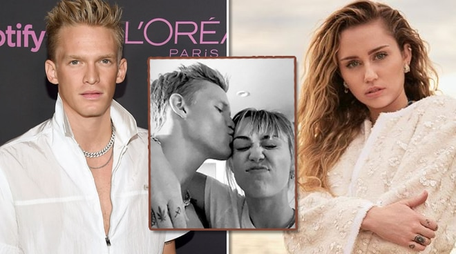 Miley Cyrus is dating Cody Simpson