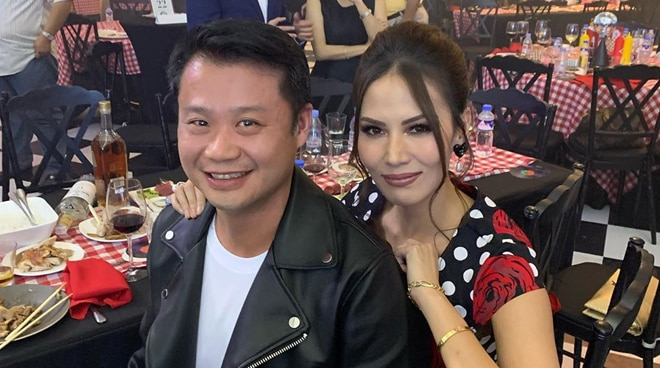 LOOK: Bianca Manalo shares first public photo with Senator Win Gatchalian