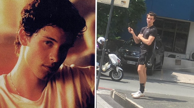 Shawn Mendes spotted casually roaming around Makati