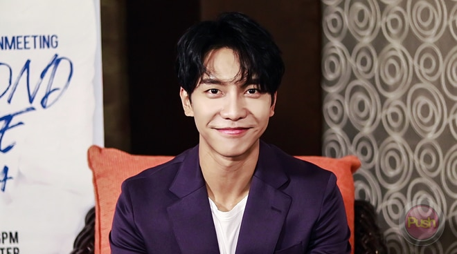 Lee Seung-gi shares what his dream role is