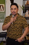 Jed Madela at his thanksgiving blogcon
