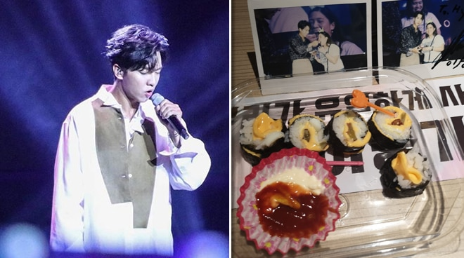 Lucky Pinay fan gets to eat Kimbap made by Lee Seung Gi