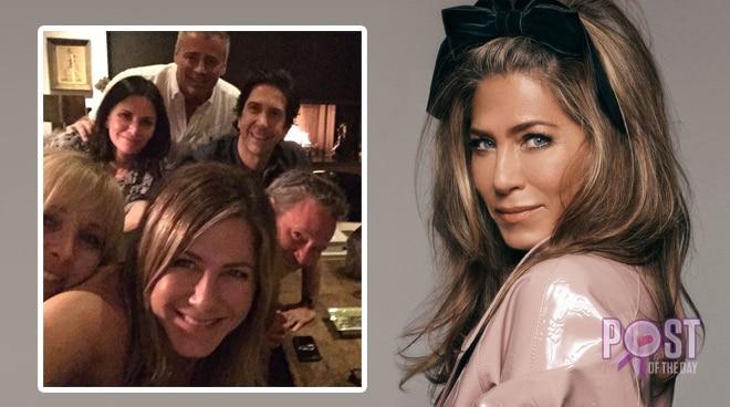 LOOK: Jennifer Aniston joins Instagram with 'FRIENDS' cast groufie