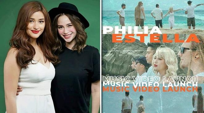 Liza Soberano stars in Arci Munoz-led band's music video