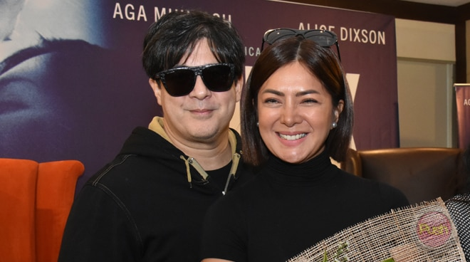 Did Aga Muhlach court Alice Dixson before?