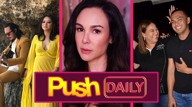 Baron Geisler, Gretchen Barretto and Karla Estrada | Push Daily Top 3