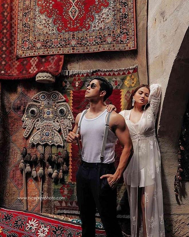 Rodjun and Dianne looked very much in love in their prenup photoshoot held in Cappadocia, Turkey.