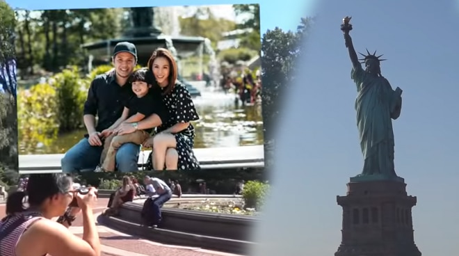 Toni Gonzaga brings Seve to New York for the first time