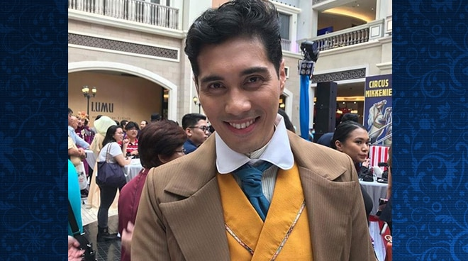 EXCLUSIVE: Gian Magdangal admits there's pressure in starring in next year's musical 'Carousel'