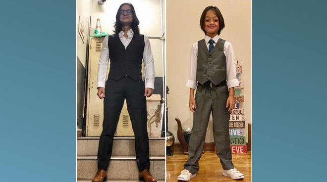 LOOK: Netizens gush over side-by-side photo of Ryan Agoncillo, son Lucho