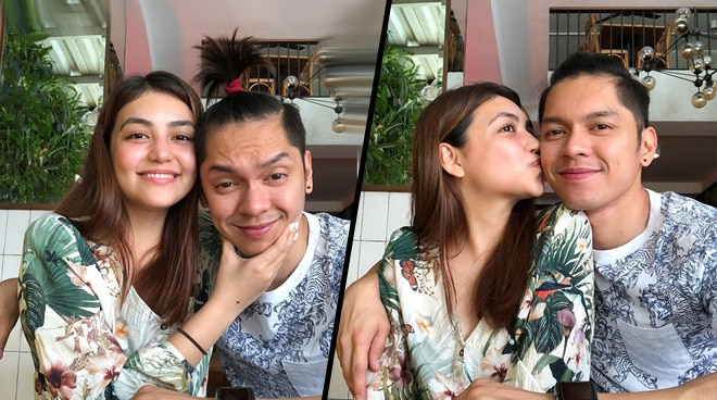 LOOK: Carlo Aquino, rumored girlfriend get cozy in photo