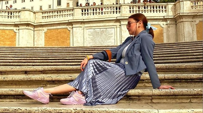 Why Angelica Panganiban was approached by authorities in Italy