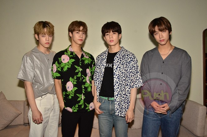 N.Flying had their Up All Night concert in Manila last Sept. 1 at the New Frontier Theater.