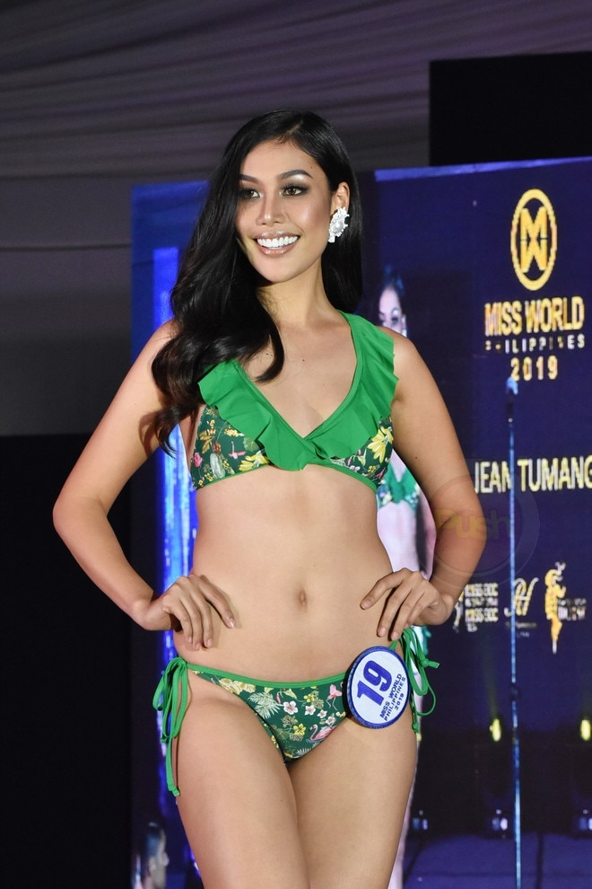 Miss World 2019 candidates during the press presentation