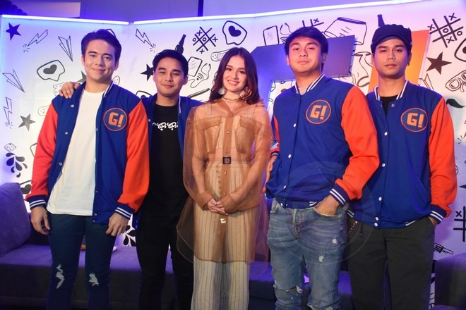 It stars McCoy de Leon, Jameson Blake, Paulo Angeles, Mark Oblea, and Kira Balinger.
