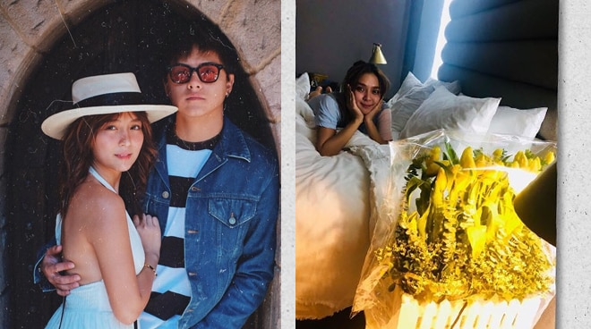 LOOK: Daniel Padilla sends flowers to Kathryn Bernardo