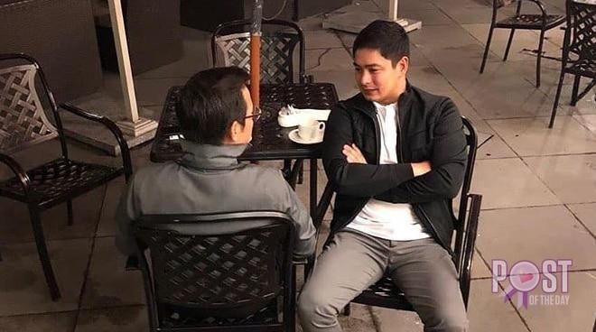 Manila mayor Isko Moreno meets Coco Martin