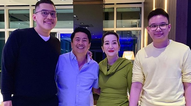 Kris Aquino thanks Willie Revillame for making Josh happy