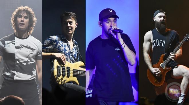 Linkin Park's Mike Shinoda holds concert in Manila