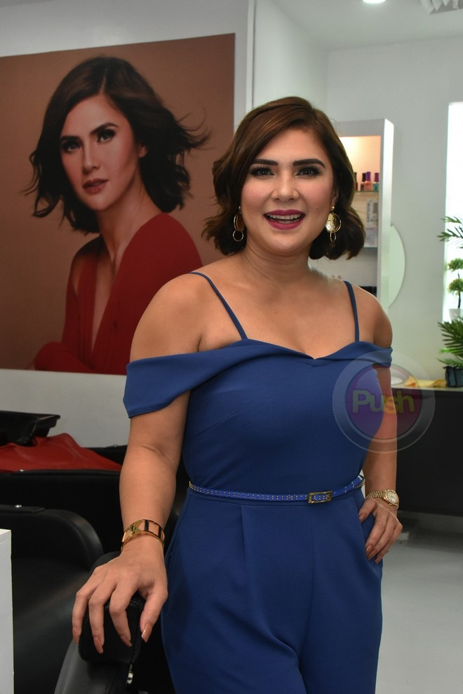 Vina Morales celebrates the success of Ystilo.