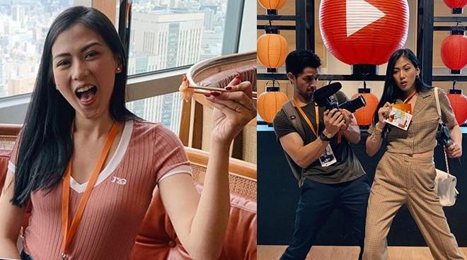 Alex Gonzaga is PH's representative at YouTube Creator Summit in Japan