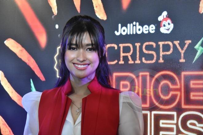 Liza Soberano for Jollibee's new Crispy Spice Fries.