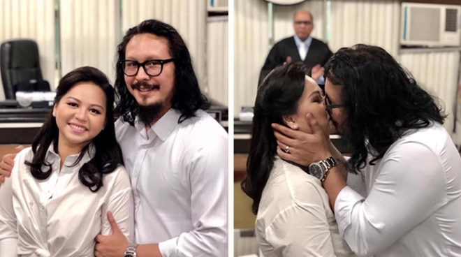 Baron Geisler marries non-showbiz girlfriend Jamie Evangelista