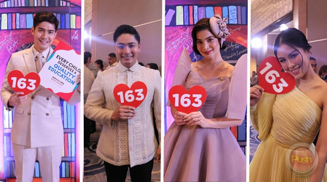 Kapamilya stars give back through the ABS-CBN Ball 2019