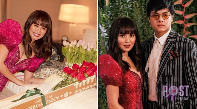 Kathryn Bernardo gets a surprise from Daniel Padilla after the ABS-CBN Ball 2019
