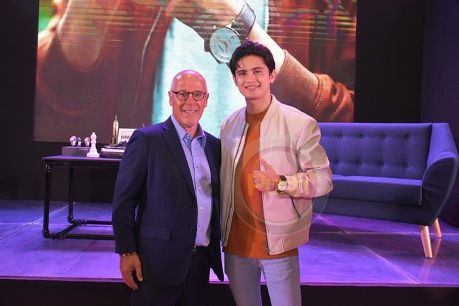 James is now the endorser of American watch brand Armitron.