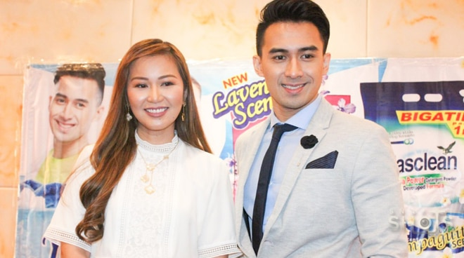 Young JV introduced as the new endorser of a detergent brand