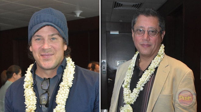 American actor Christian Kane, director Dean Devlin in Cebu for new US series 'Off Tropic'