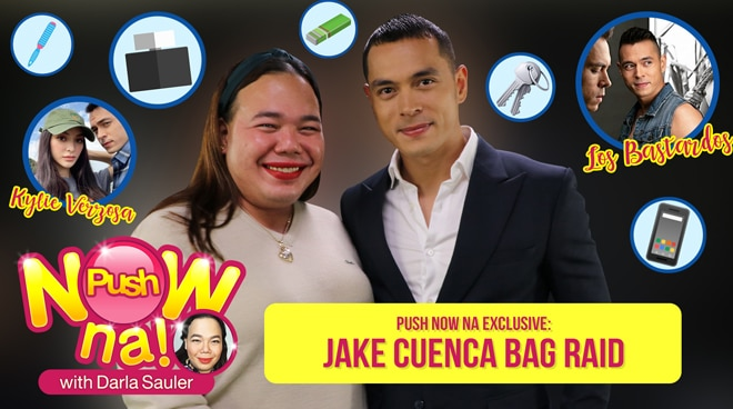 Bag Raid with Jake Cuenca   Push Now Na EXCLUSIVE