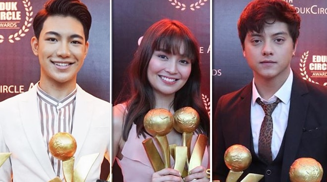 Kathryn Bernardo, Daniel Padilla, Darren Espanto win big at 9th EdukCircle Awards