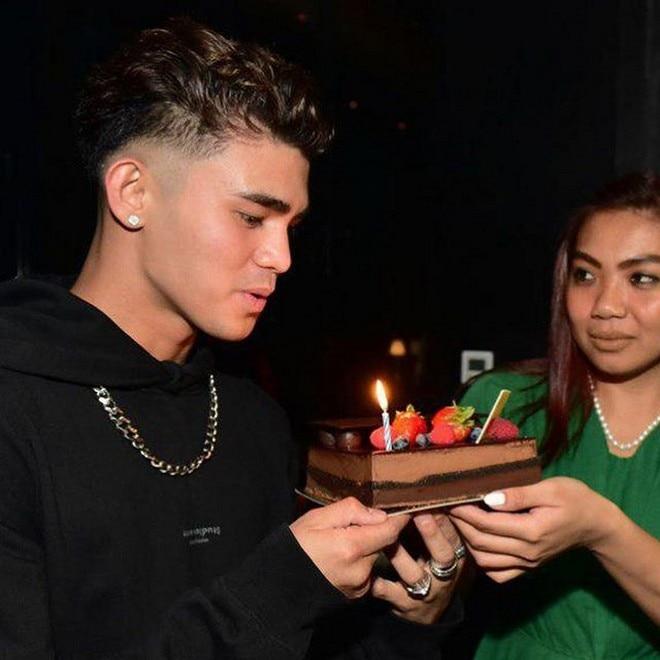 Inigo Pascual celebrate his 22nd birthday last September 14.