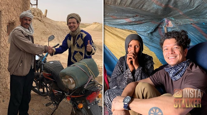 SEE: Jericho Rosales goes to Morocco to celebrate 40th birthday