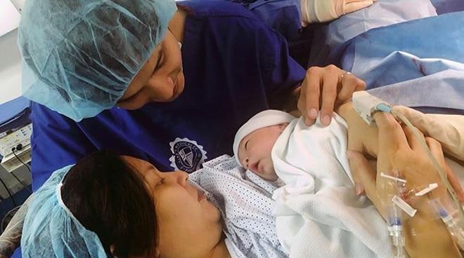 Kean Cipriano, Chynna Ortaleza welcome baby boy