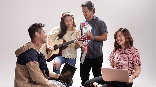 Yeng Constantino sings a Jolina Magdangal classic for movie with Joem Bascon, Miles Ocampo, and Rocco Nacino
