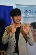 For the 2nd time, Jung Hae In visits Manila for a fan meet.