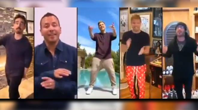 WATCH: Backstreet Boys reunite for virtual performance of 'I Want It That Way'