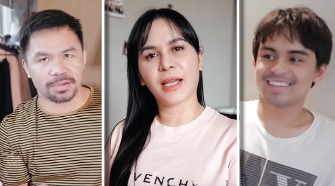 PANOORIN: Mga anak ng Pacquiao, first-time kumain ng 'ginamos at nilagang saging'